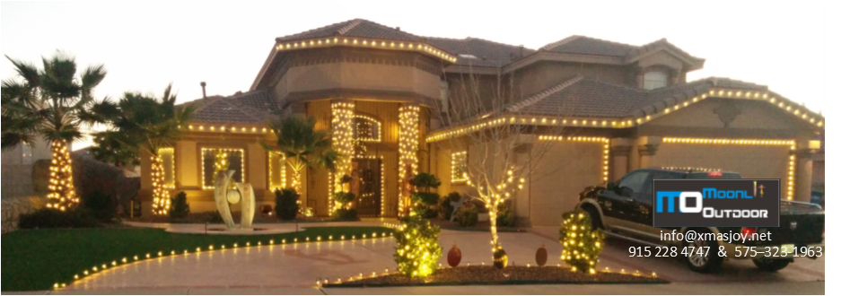 Wouldn't you like to enjoy the Holidays with fewer hassles? Let us Rent, Install and take down, Christmas Lights for you !
